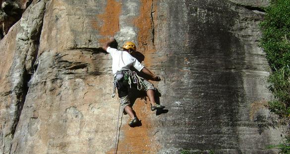 Escalada e aventura