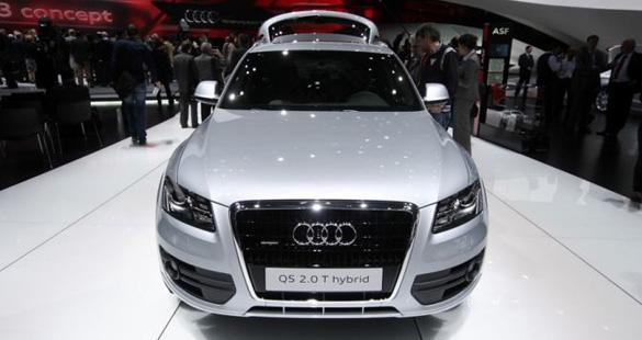 Tecnologia em Genebra com o Audi Q5 híbrido