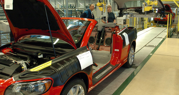 Volvo Car assume estúdio de design