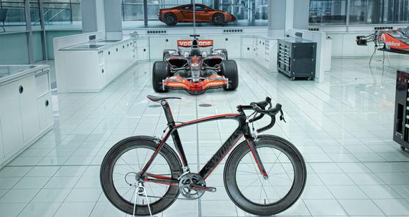 Venge: a bicicleta da McLaren