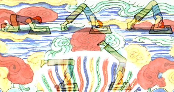 Invertidas – posturas que rejuvenescem – III