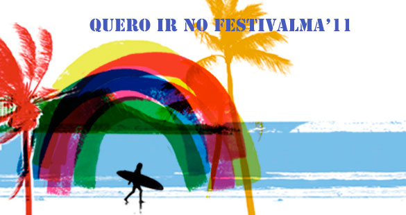 Concorra a VIPs para o FestivAlma Surf