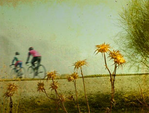Two Cyclists – Art Photography