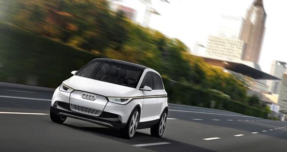 Audi A2 concept em Frankfurt