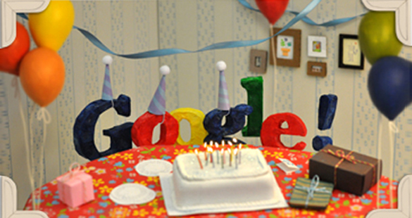 13 anos de Google