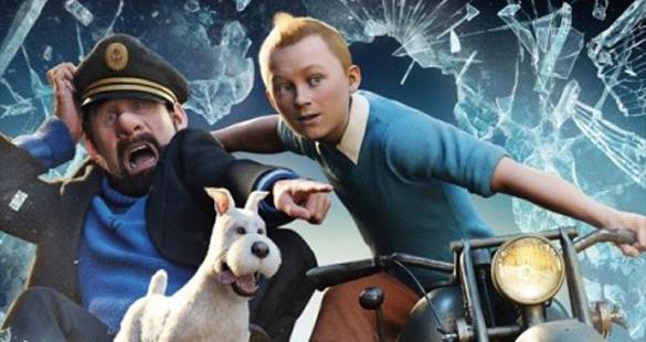 Novo trailer de Tintin