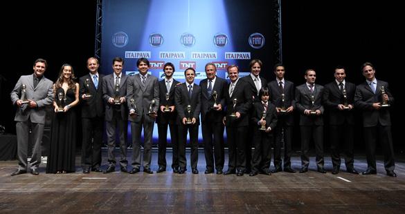 Premiados no Capacete de Ouro 2011