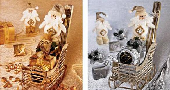 Coleção Dourada e Prateada