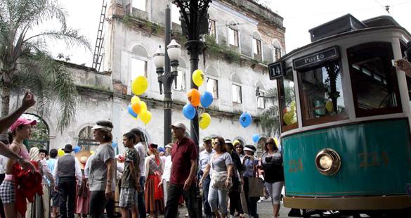 Caminhada Histórica em Santos