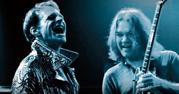 Van Halen volta aos palcos