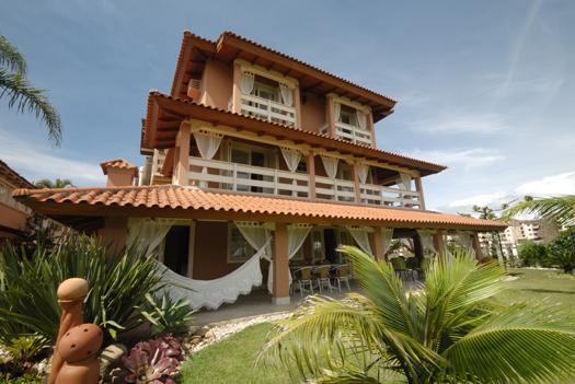 Há duas opções de hospedagem no Villas (Foto: Divulgação)
