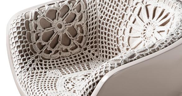Crochê e Patchwork na Design da Vila