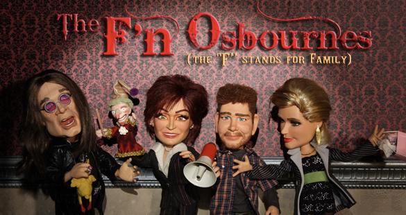 A família Osbourne ganha cartoon