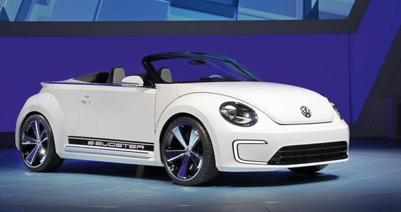 Volkswagen E-Bugster no Salão de Pequim