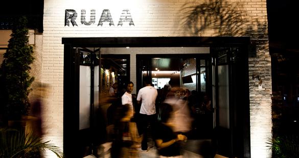 Novo restaurante RUAA