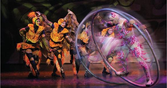 Cancun recebe espetáculo da Broadway