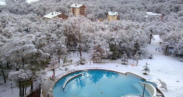 Neve em Termas de Chillán