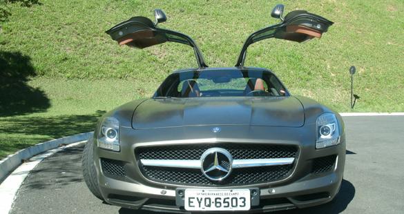 Mercedes-Benz SLS 63 AMG: Asas do desejo