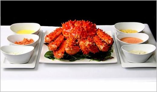 Centolla Austral Restaurante OX