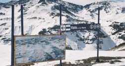 Vista Vale Nevado x La Parva
