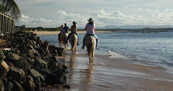 Cavalgue em meio às belezas de Maraú
