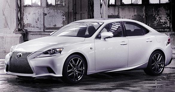 Lexus apresenta novo IS no Salão de Detroit 2013