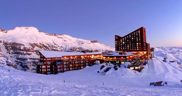 Valle Nevado é eleito melhor destino de esqui do Chile