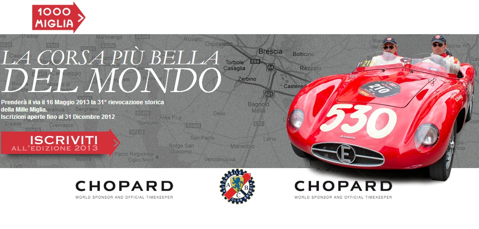 Mille Miglia, a corrida mais bonita do mundo