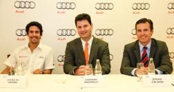 Lucas Di Grassi, Leandro Radomile e Jonas Calson (Foto: Edu Léporo)