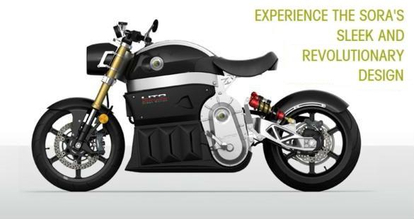 SORA – A primeira moto elétrica CVT do mundo!