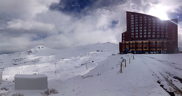 Valle Nevado adianta abertura de pistas