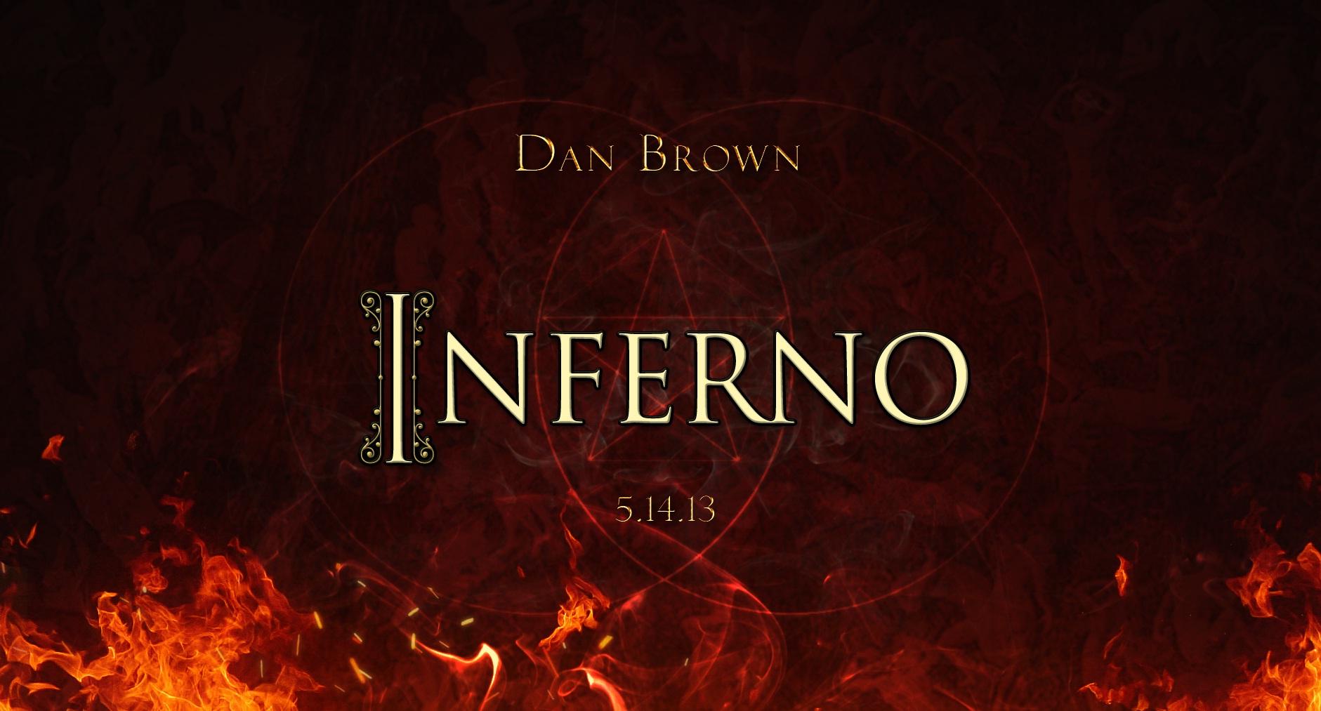 """O Livro """"Inferno"""" de Dan Brown"""