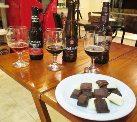 Cervejas harmonizadas com chocolate no Beer Specialist Série Especial Páscoa (Foto: Marcos Garcia/PPOW)
