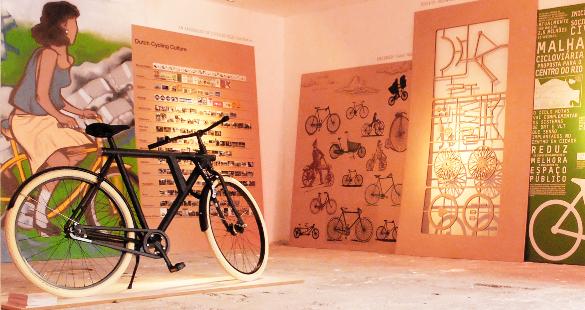 Pé+Dá+Lá & Aqui: Exposição de Bikes