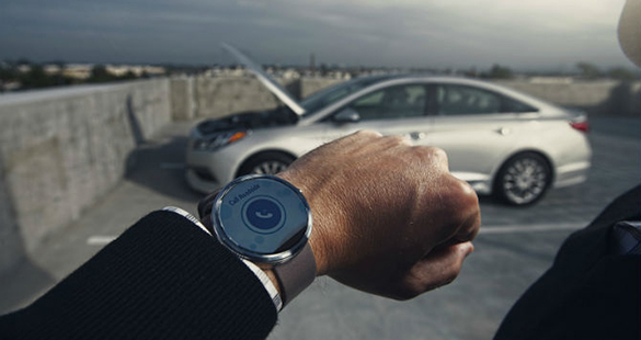 App da Hyundai para relógio pode controlar carros