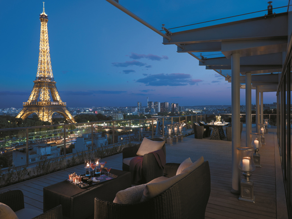 Shangri-La Paris cria menu 100% verde