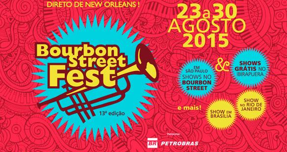 13ª edição Bourbon Street Fest