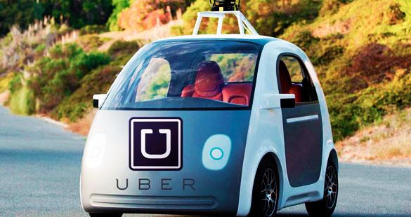 O Carro autônomo do UBER