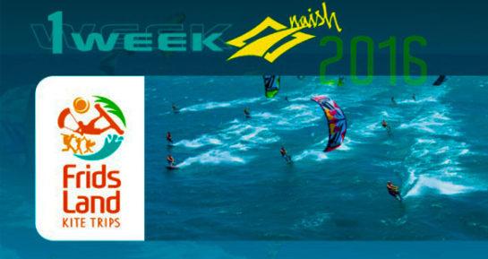 KiteSurf :: One Week Naish 2016