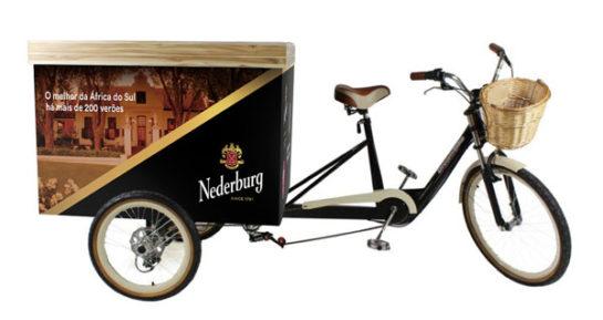 Degustação de vinhos Nederburg na mais nova Wine Bike de São Paulo