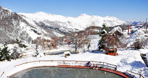Nevados de Chillán :: Do Esqui na Neve às Águas Termais