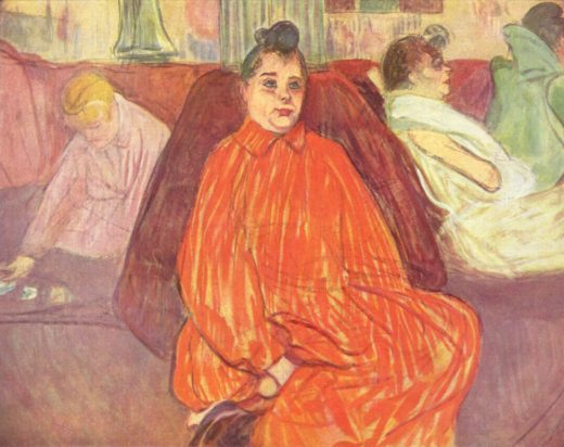 Henri de Toulouse-Lautrec O divã [The Divan], circa 1893, Compra [Purchase], 1958