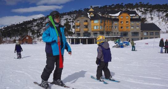 Caviahue: Perfeito destino de neve para famílias