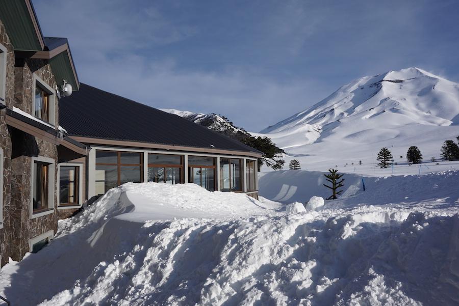 Inverno no Corralco Resort de Montaña