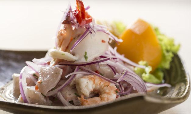 Novos sabores do Peru no cardápio do QCeviche
