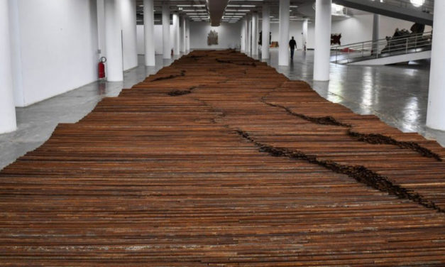 """Exposição """"raiz"""" do artista chinês Weiwei"""