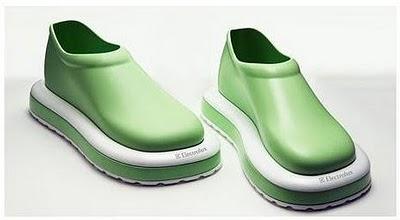 Sapatos que aspiram – vc anda e limpa