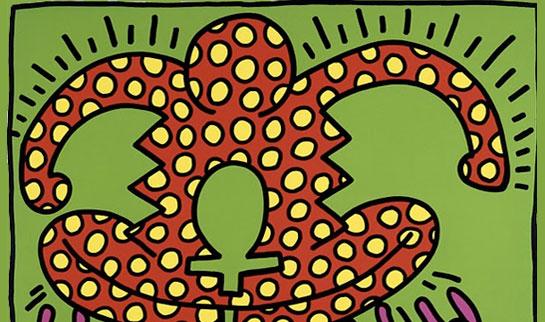Inéditos de Keith Haring em exposição