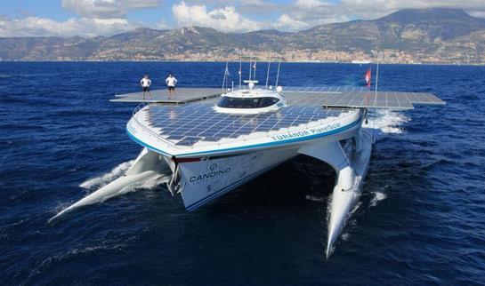 Tûranor: Maior embarcação solar do mundo