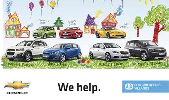 Chevrolet presenteia instituição que ajuda crianças